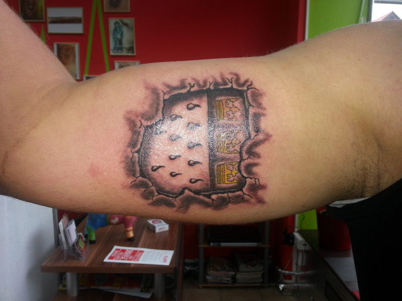 K&246ln Wappen  Tattoostudio Panicroom